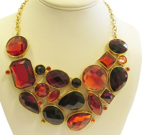 Joan Rivers Joan Rivers Couture Faceted Crystal Adjustable Bib Necklace with 3