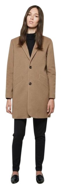 Item - Tan Brown Chesterfield Wool Blend In Camel Coat Size 6 (S)