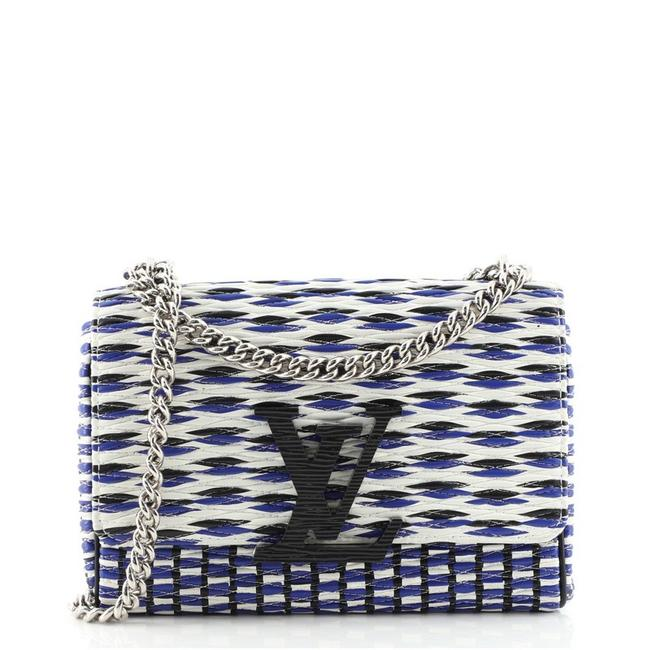 Item - Chain Smoke Quilted Leather Clutch