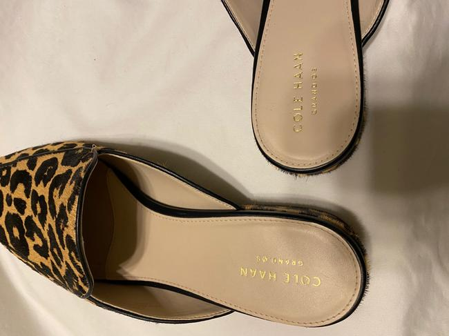 Cole Haan Black & Tan Grand Os Mules/Slides Size US 9.5 Regular (M, B) Cole Haan Black & Tan Grand Os Mules/Slides Size US 9.5 Regular (M, B) Image 6