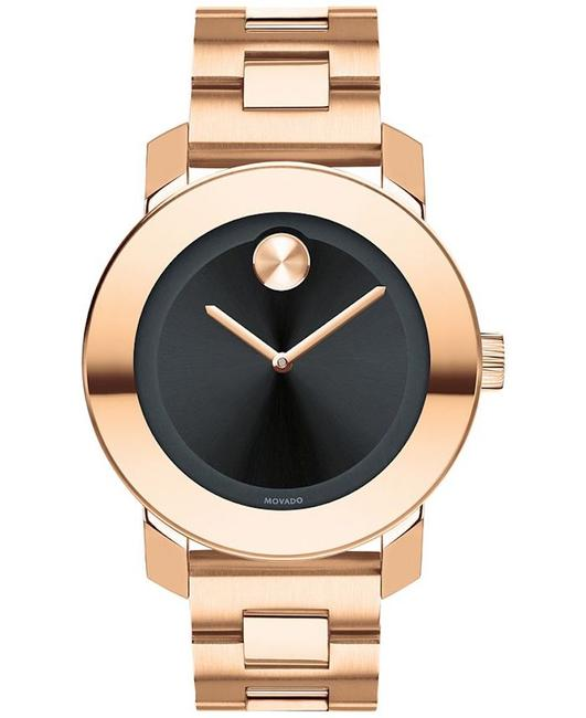 Item - Rose Gold New Black Sunray Dial Gold-tone Unisex 3600463 Watch