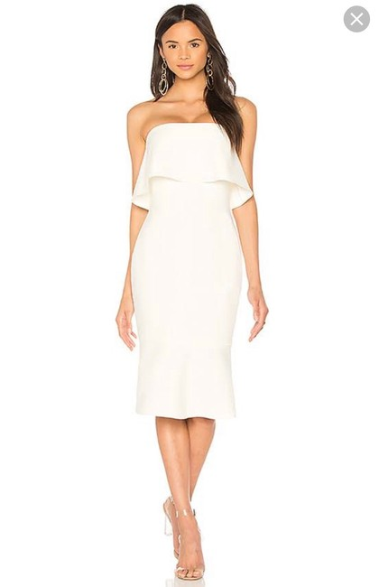 Item - White Mid-length Cocktail Dress Size 0 (XS)
