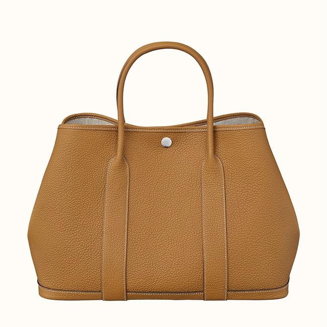 Item - Garden Party 36 Ocre Gold Calfskin Leather Tote