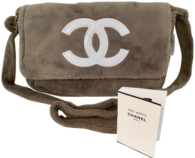 Item - Beige Cosmetic Bag With Fragrance