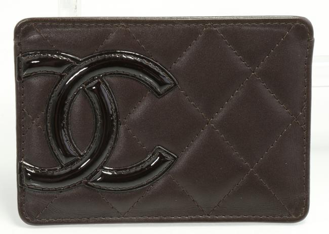 Item - Brown Cambon Ligne Card Holder Men's Jewelry/Accessory