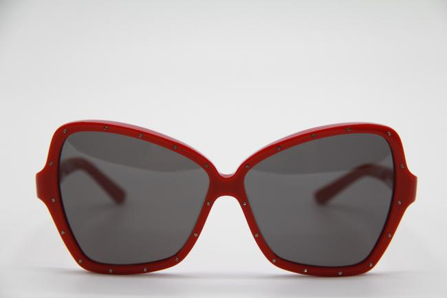 Céline Red Gray New Cl4066is 66a Women's Sunglasses Céline Red Gray New Cl4066is 66a Women's Sunglasses Image 2