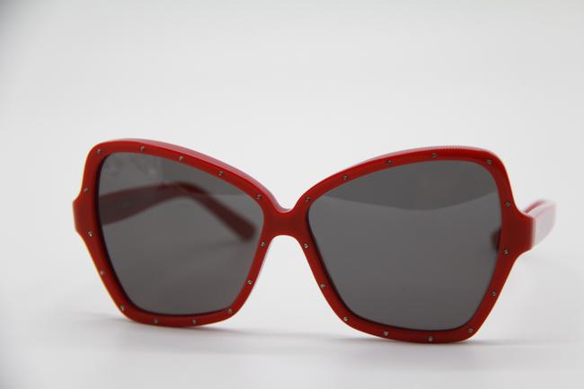 Céline Red Gray New Cl4066is 66a Women's Sunglasses Céline Red Gray New Cl4066is 66a Women's Sunglasses Image 3
