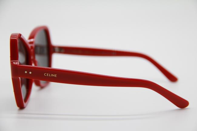 Céline Red Gray New Cl4066is 66a Women's Sunglasses Céline Red Gray New Cl4066is 66a Women's Sunglasses Image 5
