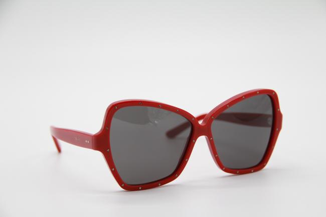 Céline Red Gray New Cl4066is 66a Women's Sunglasses Céline Red Gray New Cl4066is 66a Women's Sunglasses Image 6