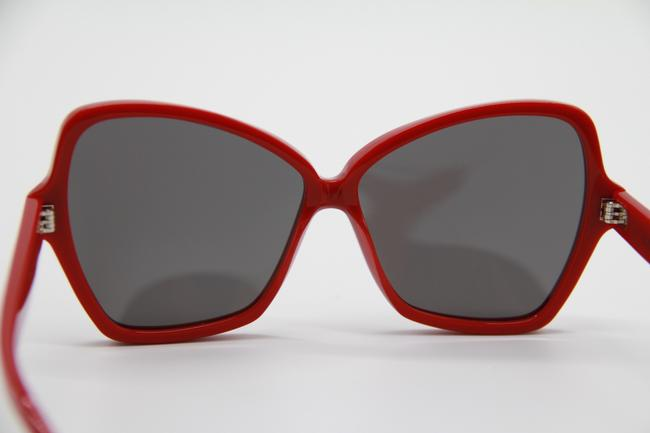 Céline Red Gray New Cl4066is 66a Women's Sunglasses Céline Red Gray New Cl4066is 66a Women's Sunglasses Image 7