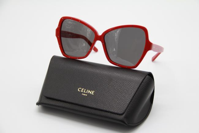 Céline Red Gray New Cl4066is 66a Women's Sunglasses Céline Red Gray New Cl4066is 66a Women's Sunglasses Image 10