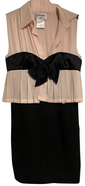 Item - Beige / Back Pencil Mid-length Night Out Dress Size 8 (M)