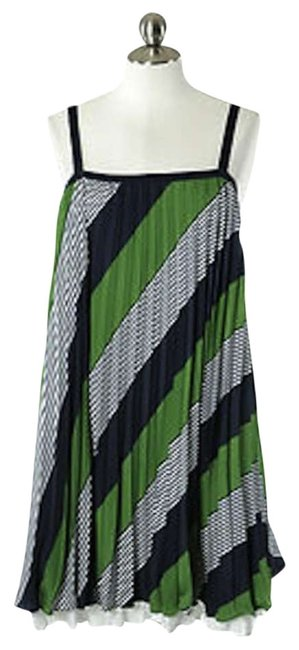 Preload https://item2.tradesy.com/images/thakoon-green-blue-white-striped-above-knee-short-casual-dress-size-4-s-292956-0-0.jpg?width=400&height=650