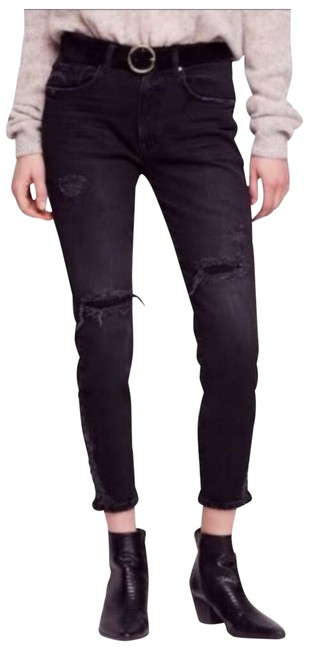 Item - Faded Black Distressed Girl About Skinny Jeans Size 0 (XS, 25)