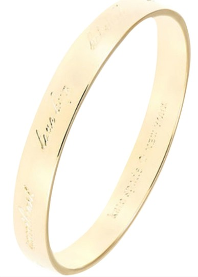 Preload https://item5.tradesy.com/images/kate-spade-gold-new-york-idiom-bangle-bracelet-2929609-0-0.jpg?width=440&height=440