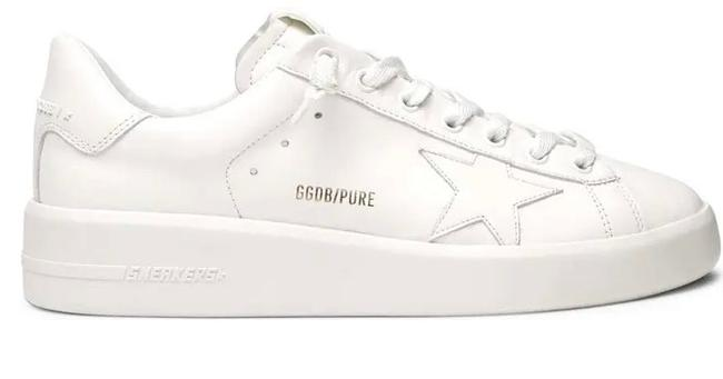 Item - White Purestar Low Top Sneakers Size US 10 Narrow (Aa, N)