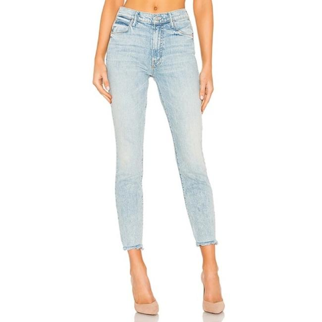 Item - Blue Light Wash Stunner Ankle Chew In Walking On Water Skinny Jeans Size 26 (2, XS)