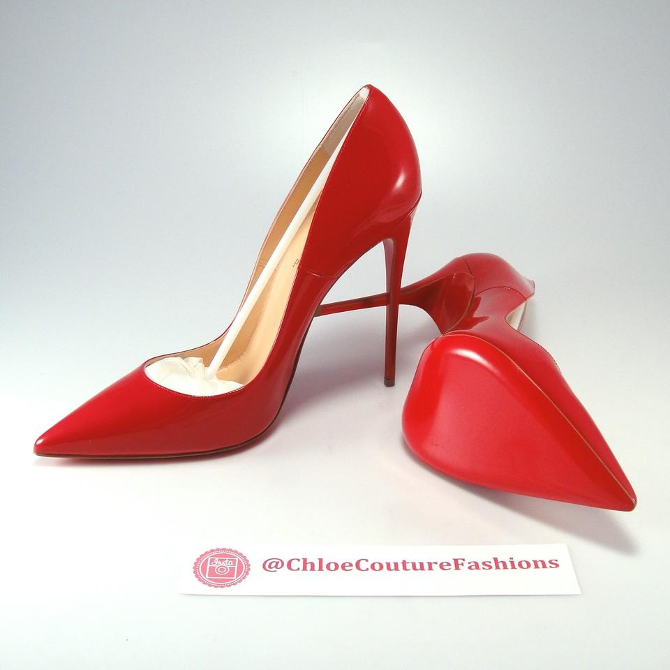 c5b543c00782 Christian Louboutin Red Patent So Kate 120mm 42 Pumps Size US 12 ...