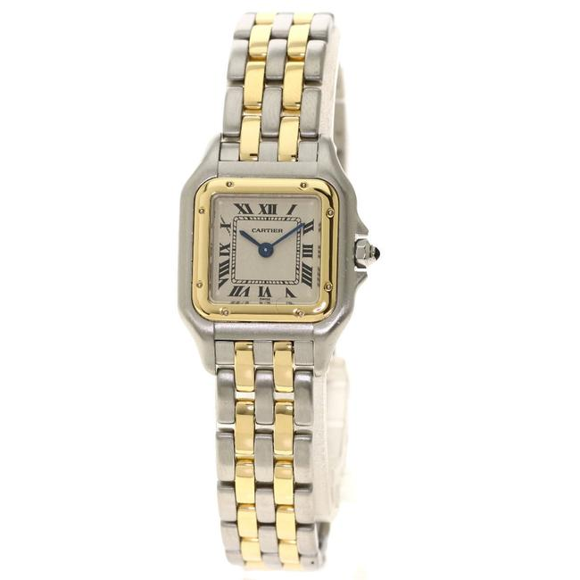 Item - W2529b6 Panther Sm 2row Stainless Steel Combination Ladies Watch