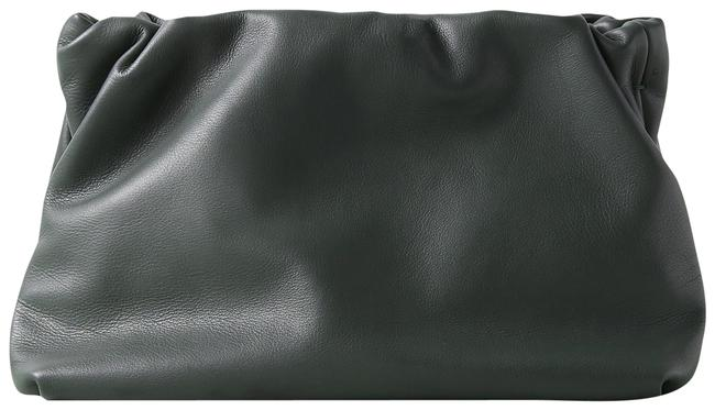 Item - Bourse Army Green Leather Clutch