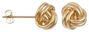 Candela 14K Yellow Gold Love Knot Earrings