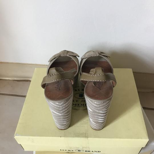 Lucky Brand Natural Wedges Image 2