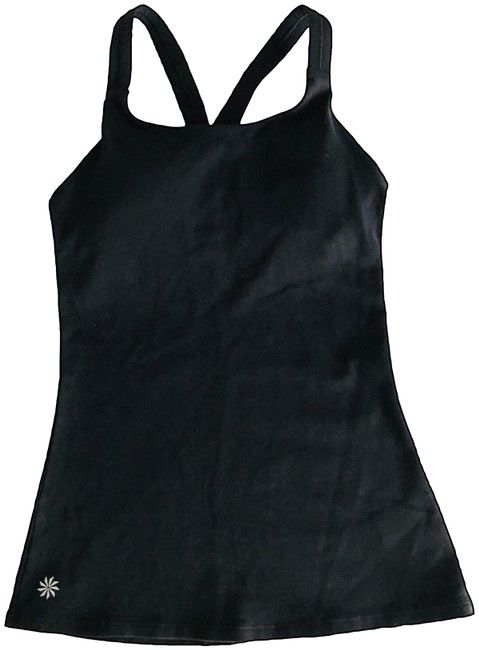Item - Black and Blue With Bra Activewear Top Size 00 (XXS)