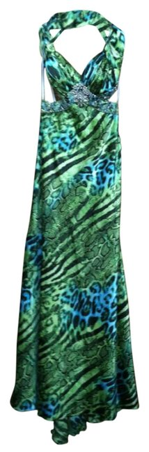 Preload https://item2.tradesy.com/images/deb-bluegreen-with-animal-print-prom-long-formal-dress-size-4-s-292991-0-0.jpg?width=400&height=650