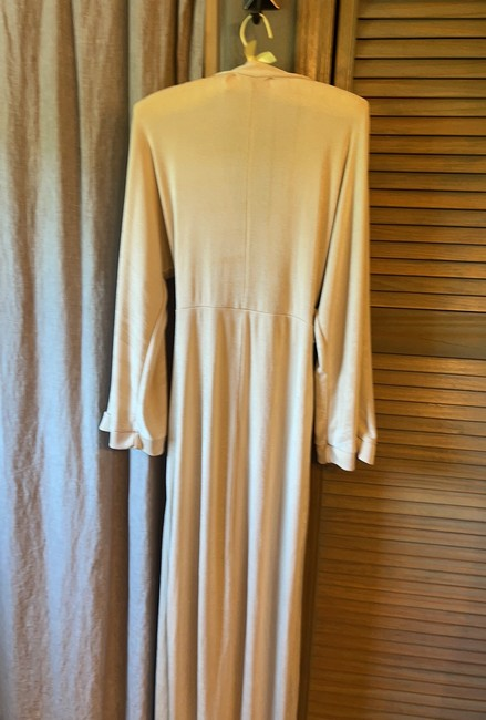 Missguided Tan Slinky Belted Wrap Long Casual Maxi Dress Size 6 (S) Missguided Tan Slinky Belted Wrap Long Casual Maxi Dress Size 6 (S) Image 9