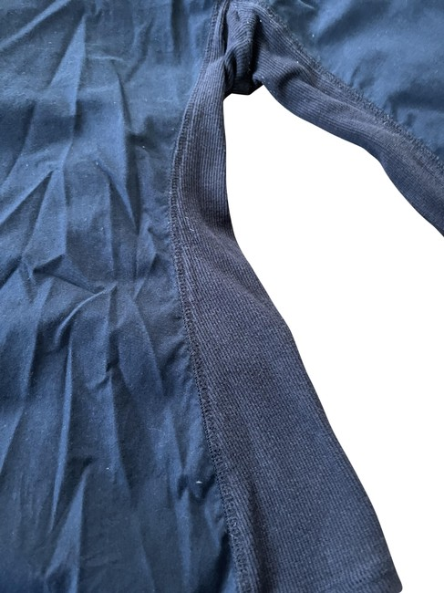 Item - Navy Blue Long Sleeved Shirt Button-down Top Size 4 (S)