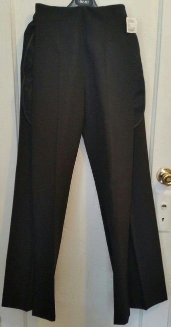 Maison Margiela Givenchy Chloe Fendi Saint Laurent Alexander Wang Trouser Pants Black Image 1