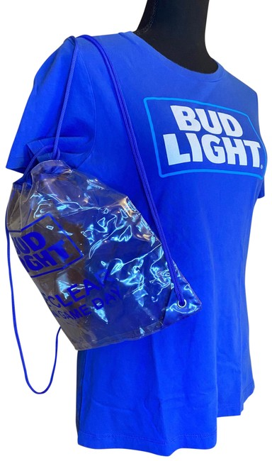 Item - Blue Budlight Game Day Set Tee Shirt Size 4 (S)