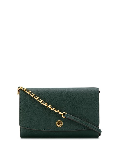 Item - Robinson Wallet On A Chain Pine Tree Leather Shoulder Bag