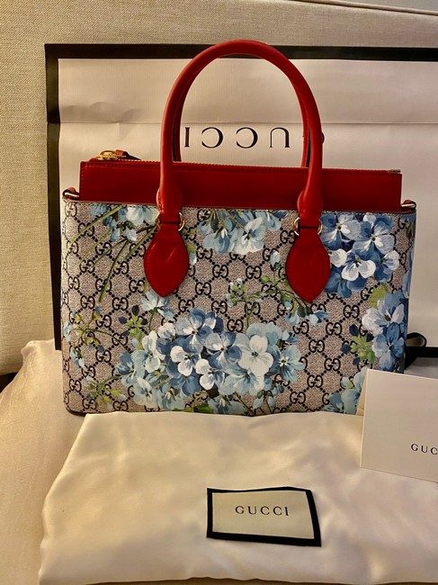 Gucci Crossbody Gg Supreme Multi Color Leather and Coated Converse Satchel Gucci Crossbody Gg Supreme Multi Color Leather and Coated Converse Satchel Image 2