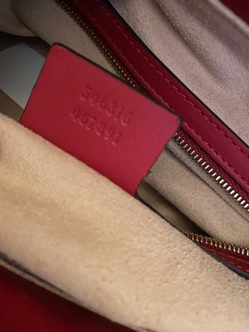 Gucci Crossbody Gg Supreme Multi Color Leather and Coated Converse Satchel Gucci Crossbody Gg Supreme Multi Color Leather and Coated Converse Satchel Image 9