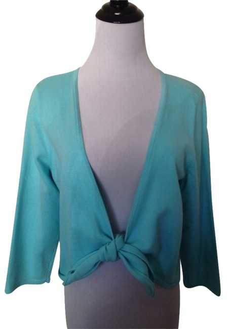 Preload https://item1.tradesy.com/images/turquoise-sweaterpullover-size-14-l-2930260-0-0.jpg?width=400&height=650