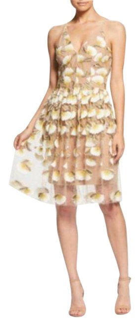 Item - Betsy Lily Embroidered Lace Short Formal Dress Size 8 (M)
