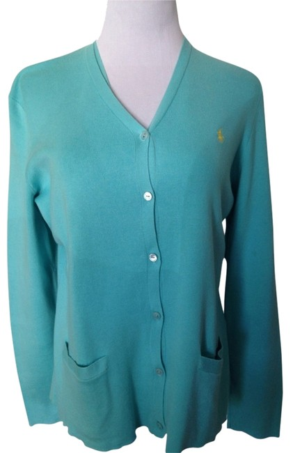 Preload https://item3.tradesy.com/images/polo-ralph-lauren-turquoise-sweaterpullover-size-14-l-2930287-0-0.jpg?width=400&height=650