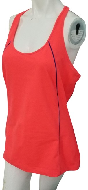 Item - Pink XL Workout Compression Tank Hot Running Activewear Top Size 16 (XL, Plus 0x)