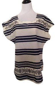 Other Top Navy Blue/White