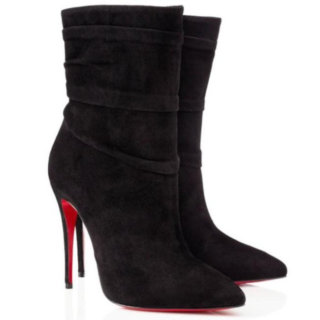 Item - Red Black Ishtar Suede Boots/Booties Size EU 35.5 (Approx. US 5.5) Regular (M, B)