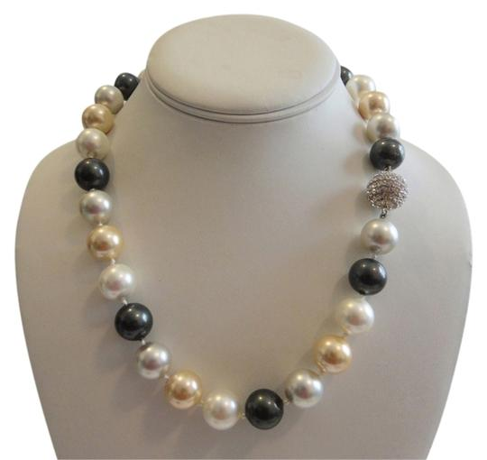 Preload https://item4.tradesy.com/images/pearlfection-silvertone-faux-south-sea-multicolor-pearl-necklace-2930413-0-1.jpg?width=440&height=440