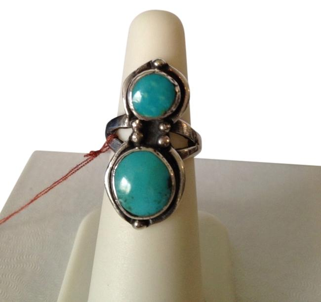 Turquoise/Silver Sleeping Beauty Sterling Ring Size 6.5 Turquoise/Silver Sleeping Beauty Sterling Ring Size 6.5 Image 1