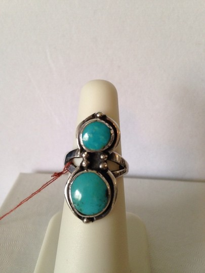 Other Sleeping Beauty Turquoise In Sterling Silver Ring, Size 6.5 Image 1