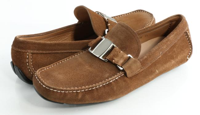 Item - Brown Sardegna 2 Suede Drivers Shoes