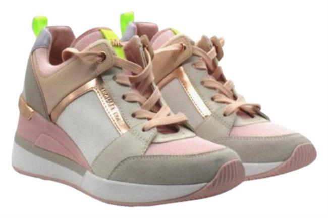 Item - Pink White Allie Trainer Signature Logo Boots/Booties Size US 5 Regular (M, B)
