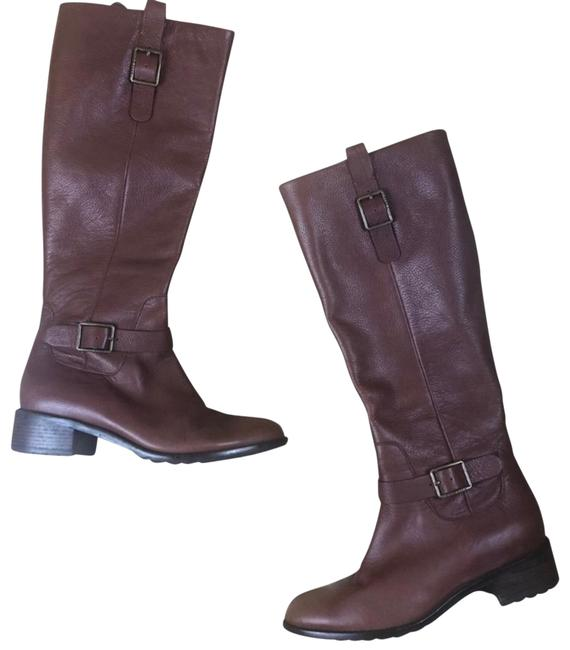 Item - Brown Grand Os Leather Boots/Booties Size US 6.5 Regular (M, B)