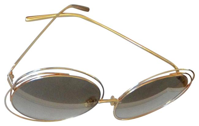 Item - Gold Brown 740 Flash K Gold/Brown Shaded Limited Edition Sunglasses