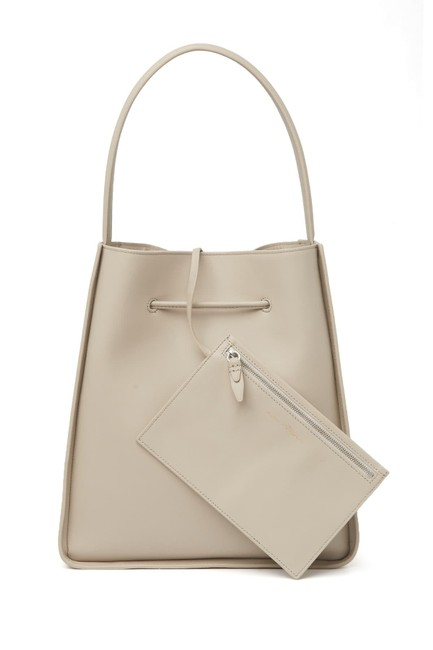 Item - Draw Cord Feather Shoulder Bag