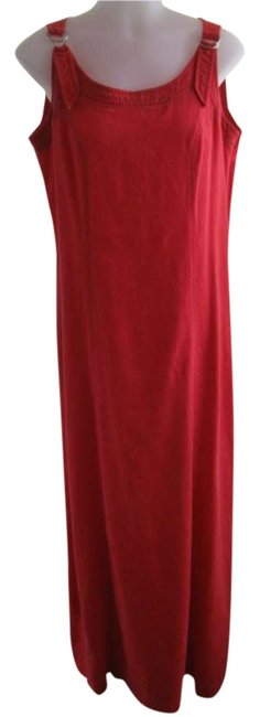 Preload https://item4.tradesy.com/images/monterey-bay-red-long-casual-maxi-dress-size-10-m-293063-0-0.jpg?width=400&height=650